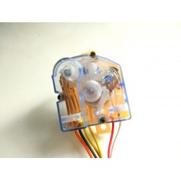Таймер (часы) для стиральной машины полуавтомат одинарный, квадратный, на 6 проводов
