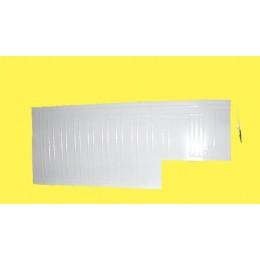 Плачущая пластина (испаритель) для ларей  550*1100 мм