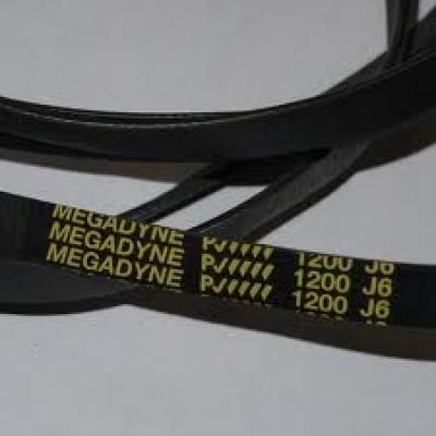 Ремень 1200 J6 EL «Megadyne» для стиральной машины  Whirpool Electrolux Zanussi