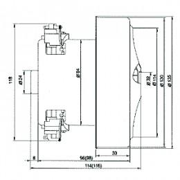 Двигатель для пылесосов LG HXZX/PA22 HXZX/PA23