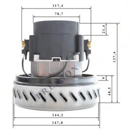 Двигатель для пылесоса Karcher H 061200206 Ametek Италия