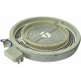 Конфорка для стеклокерамической поверхности Indesit 2200/1000W